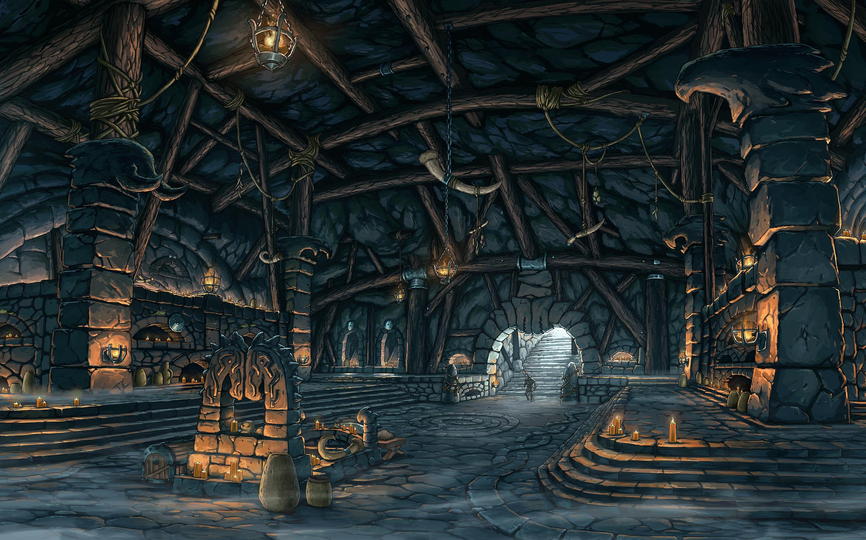 DnD images (Places) Halas_catacombs_color